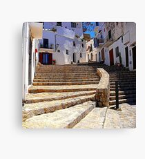 Ibiza Old Town Canvas Print