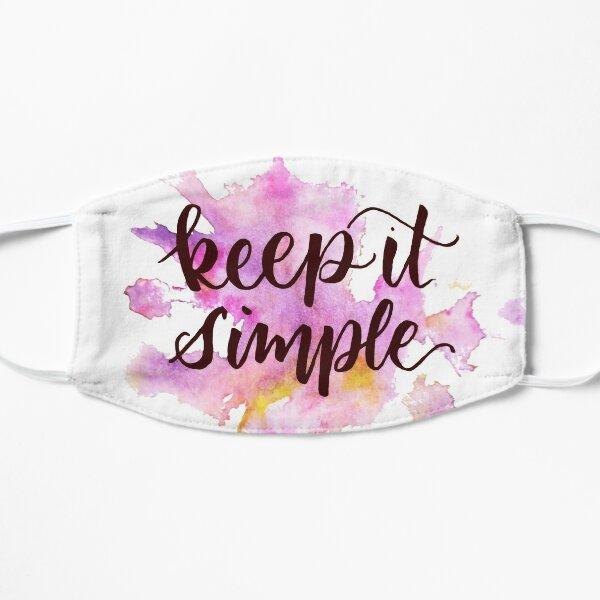 Keep It Simple Mask