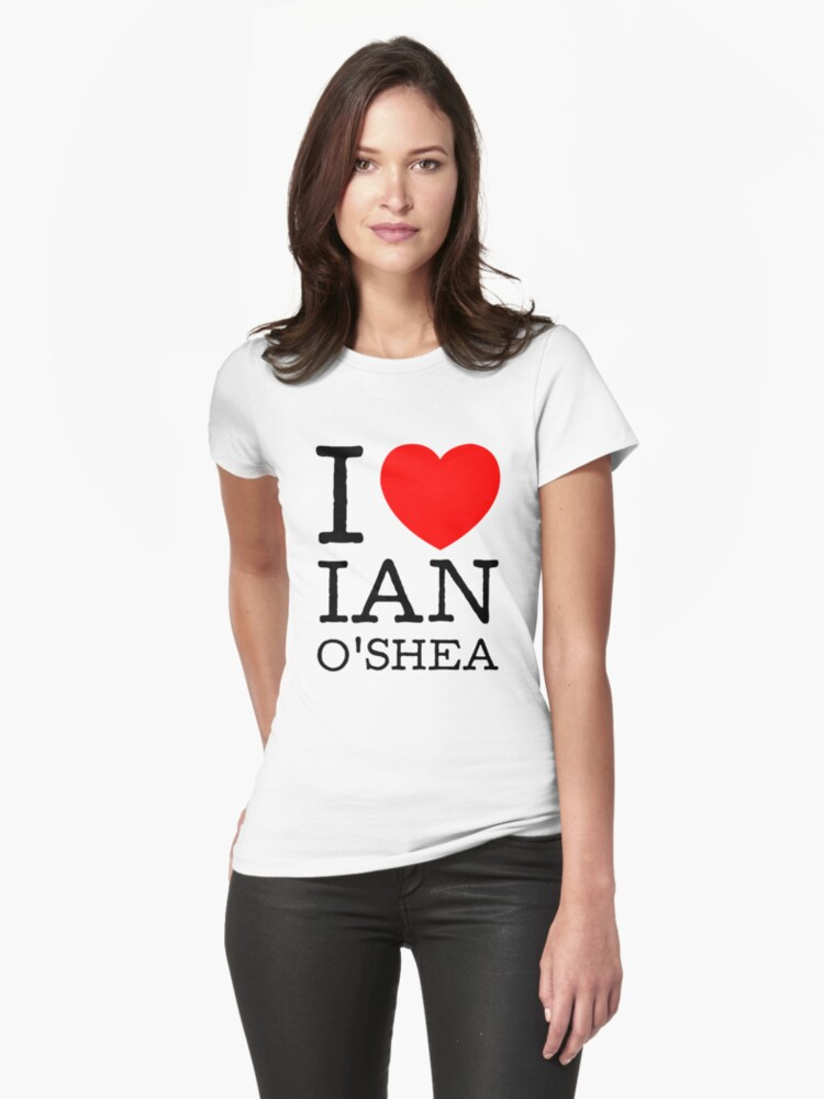 I LOVE IAN O'SHEA (black type) by freakysteve