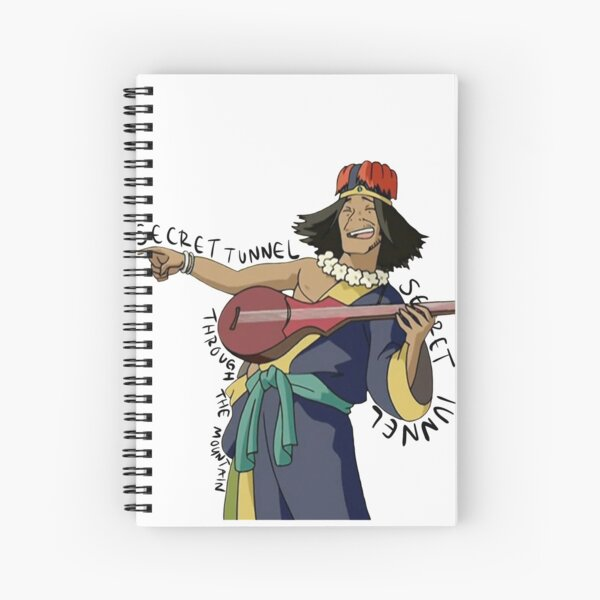SECRET TUNNEL Song Avatar Spiral Notebook