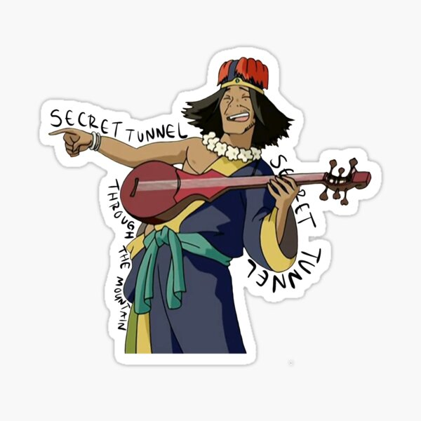 SECRET TUNNEL Song Avatar Sticker