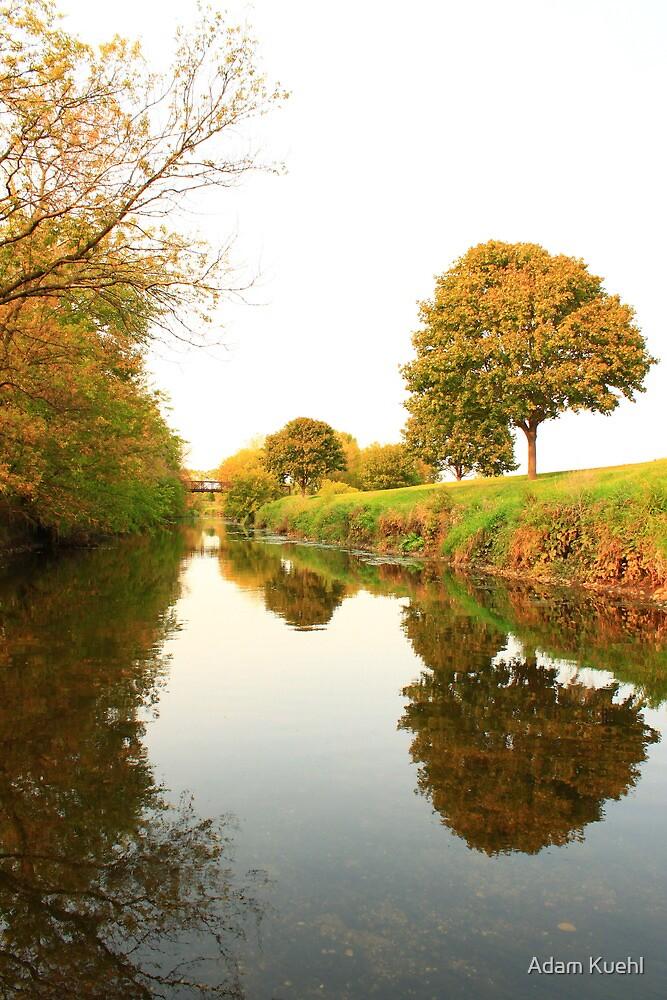 Mirror River by Adam Kuehl
