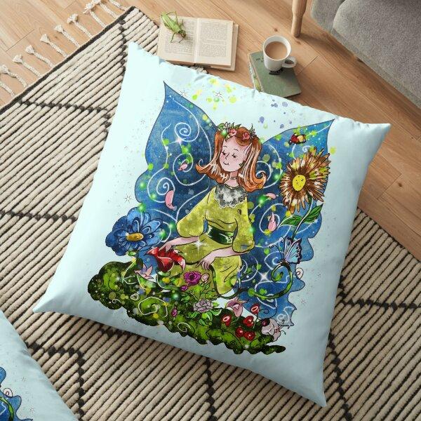 Fai The Handmade Flower Fairy™️ Floor Pillow
