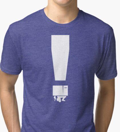 EXCLAMATION BOX! Tri-blend T-Shirt