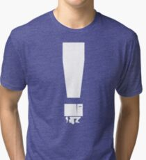 EXCLAMATION BOX! Tri-blend T-Shirt