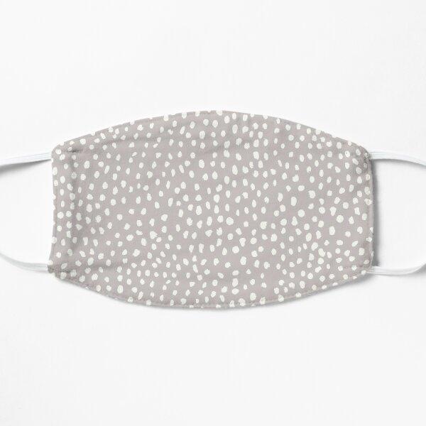 Tan Dalmatian Print Mask