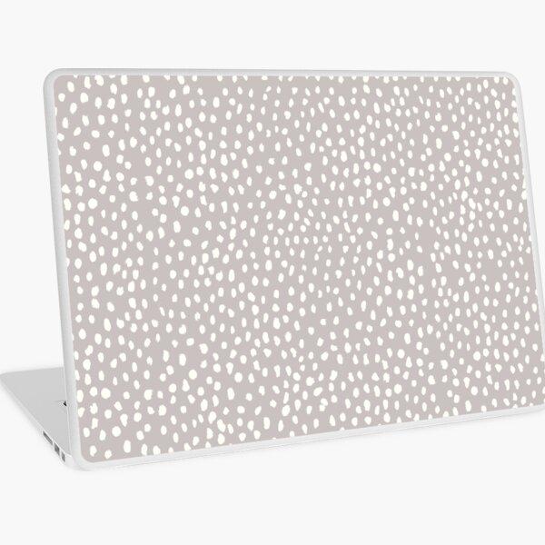 Tan Dalmatian Print Laptop Skin