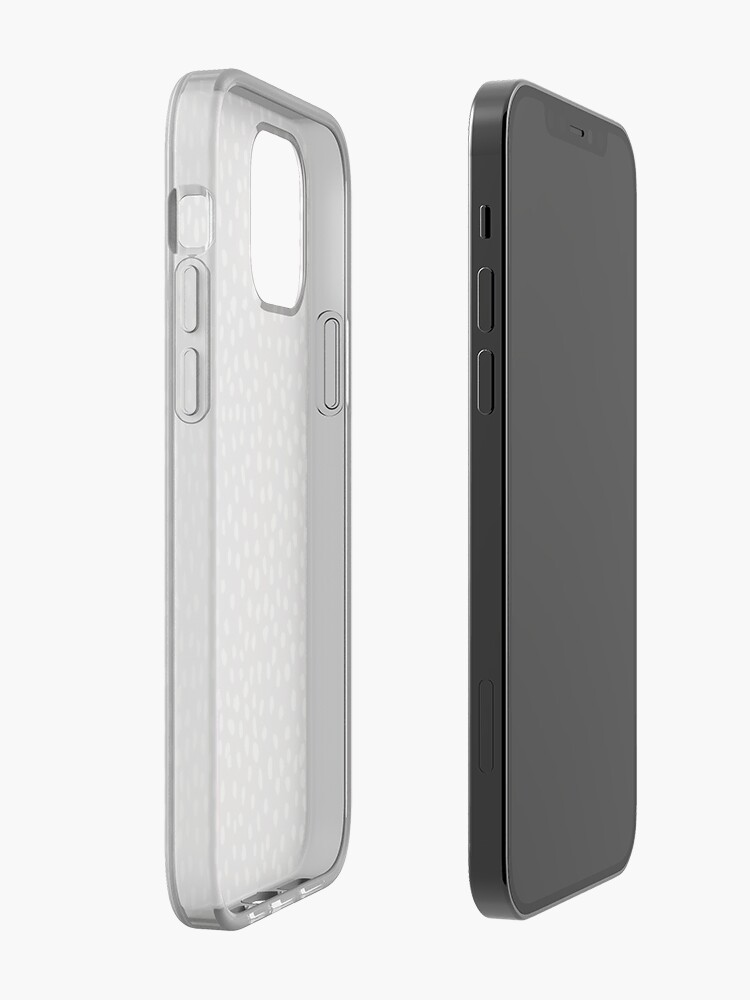 Alternate view of Tan Dalmatian Print iPhone Case & Cover