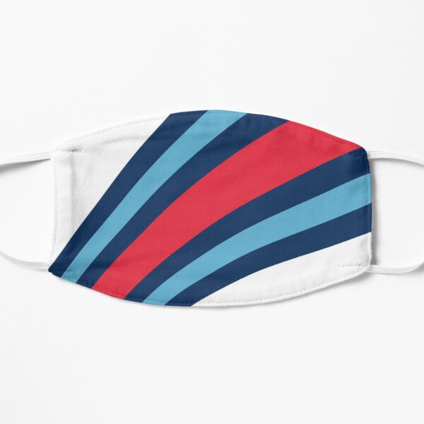 F1 Martini Stripes - Formula One Flat Mask