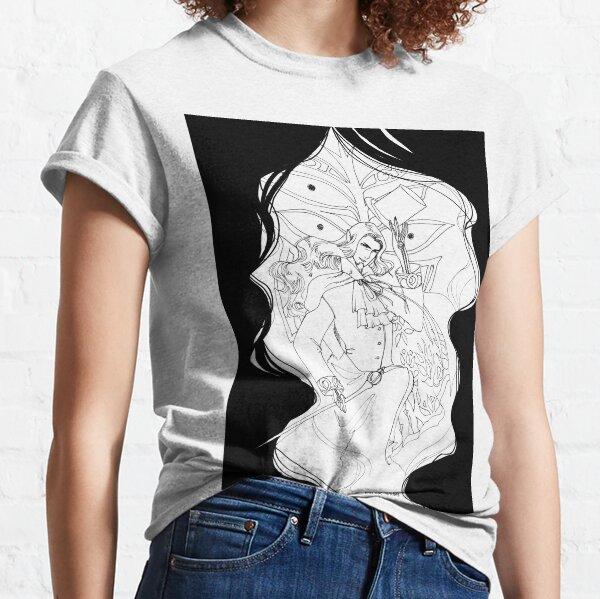Inktober 12, 2015 - Count of Monte Cristo Classic T-Shirt