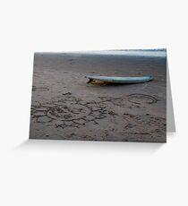 Surf Brazil Greeting Card