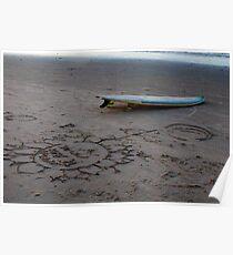 Surf Brazil Poster