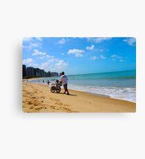 Beach in Brazil 2 Canvas Print