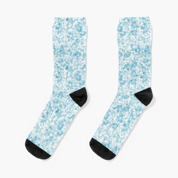 Ocean Abstract Socks