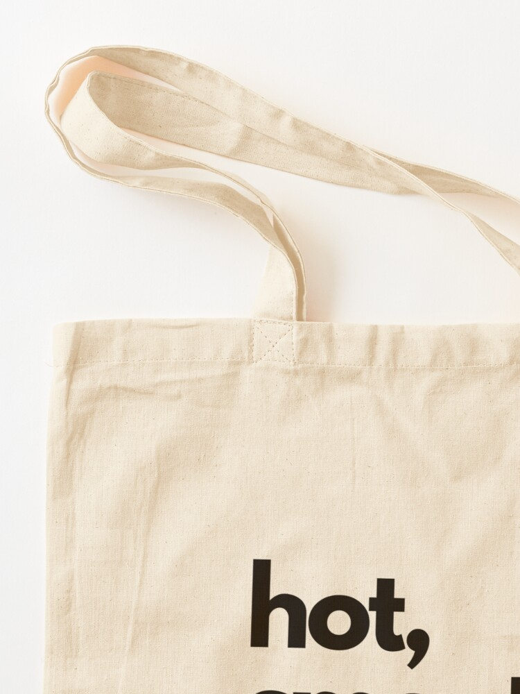 Alternate view of CoffeeCupLife: Hot, Smooth, and Tasty. Tote Bag