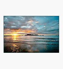 South Mission Beach Sunrise Photographic Print