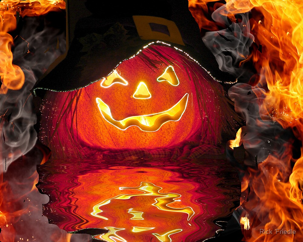 Hot Pumpkin by Rick  Friedle