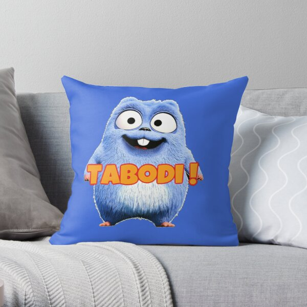 Lemmings Tabodi and Grizzy Throw Pillow