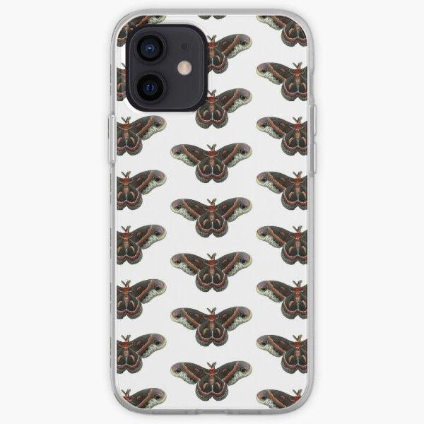 Cecropia Moth iPhone Soft Case