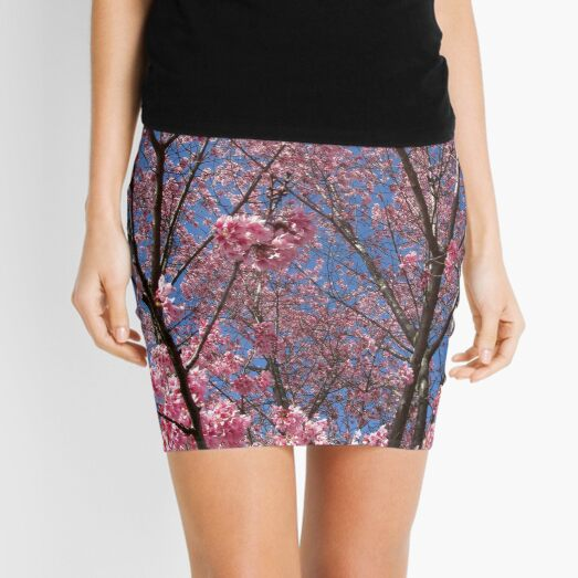 Pink Blossoms Mini Skirt