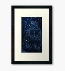 dark werewolf Framed Print