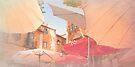 Sintra . an umbrella shade never blocks a sky view:) by terezadelpilar ~ art & architecture