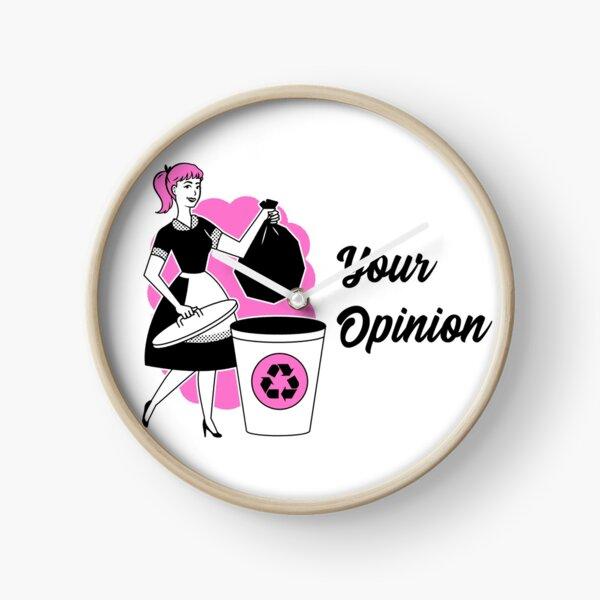 TheCoffeeCupLife: Your Opinion Clock