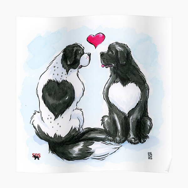 Newfy LOVE Poster