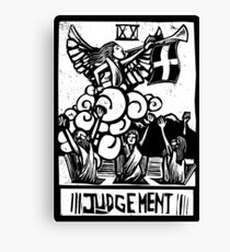 Judgement - Tarot Cards - Major Arcana Canvas Print
