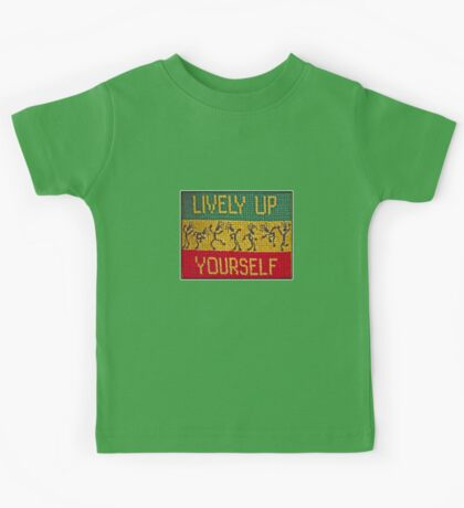 lively up yourself! Kids Clothes