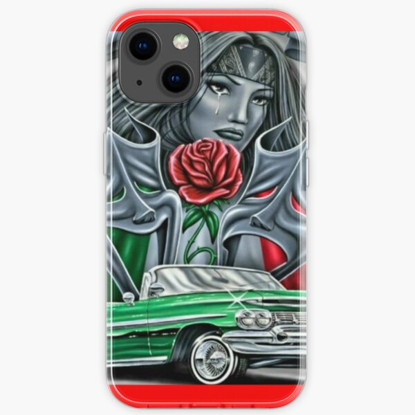 Smile now cry later, chicana  iPhone Soft Case