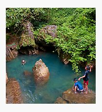 Swimming Hole Photographic Print