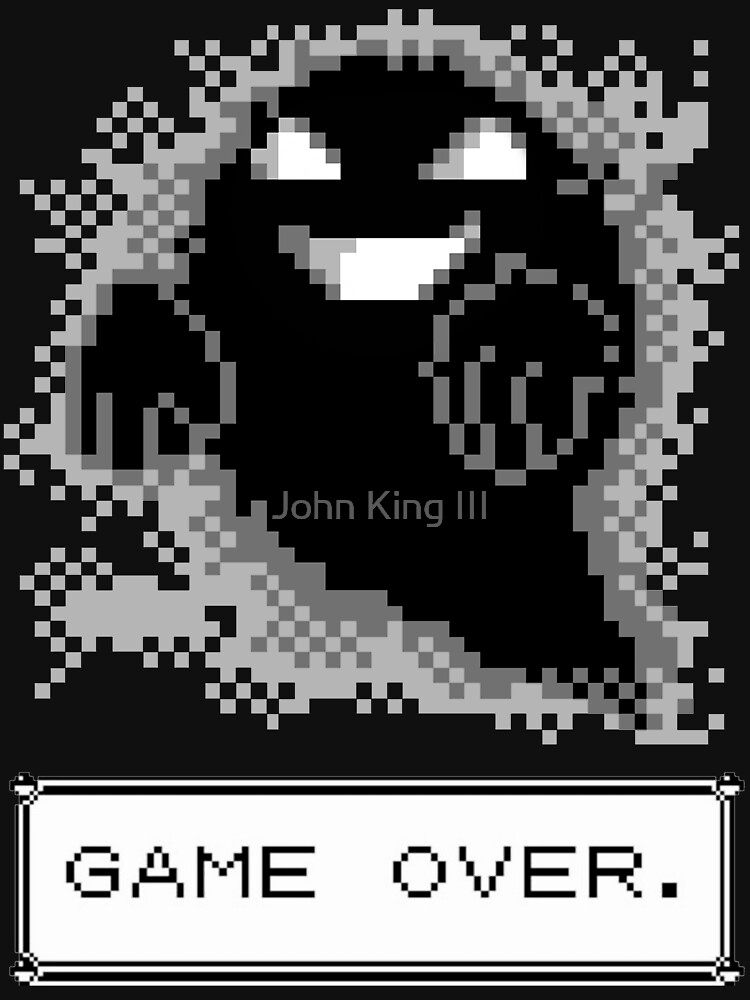 Ghost Used Curse! GAME OVER | Unisex T-Shirt