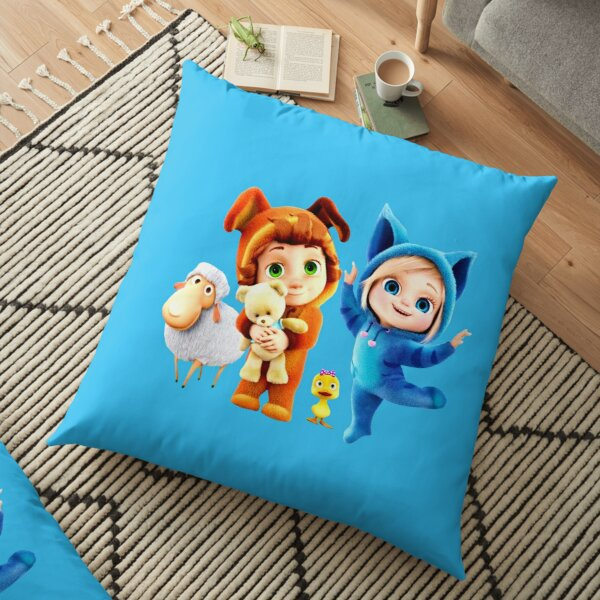 Ava and Dave baby Floor Pillow