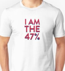 I Am The 47% Unisex T-Shirt