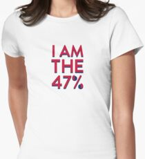I Am The 47% Women's Fitted T-Shirt