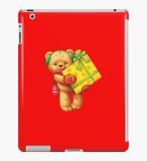 New Year Teddy Bear iPad Case/Skin