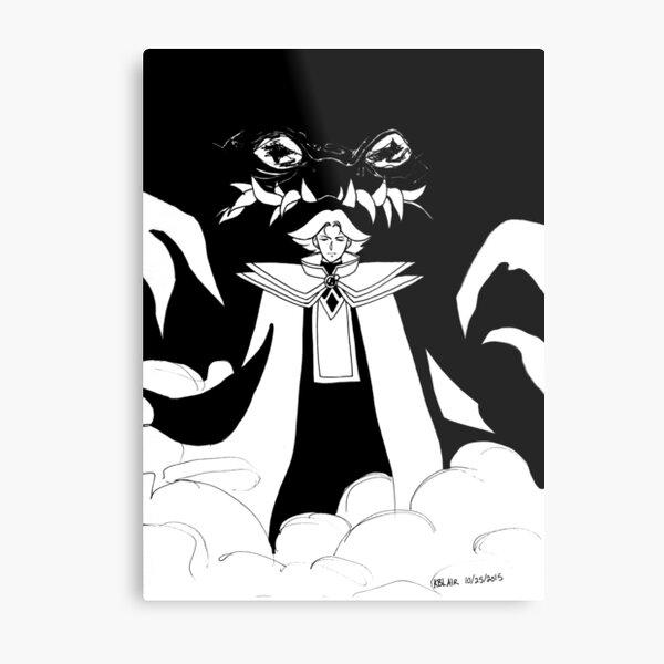 Inktober 25, 2015 - The Red Priest Metal Print