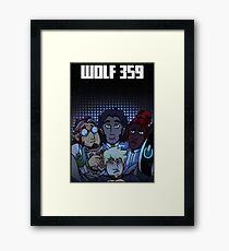 Wolf 359  Framed Print