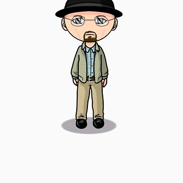 Walter White AKA Heisenberg AKA The Danger by wittytees