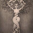 tree sketch by Stephen McLaren