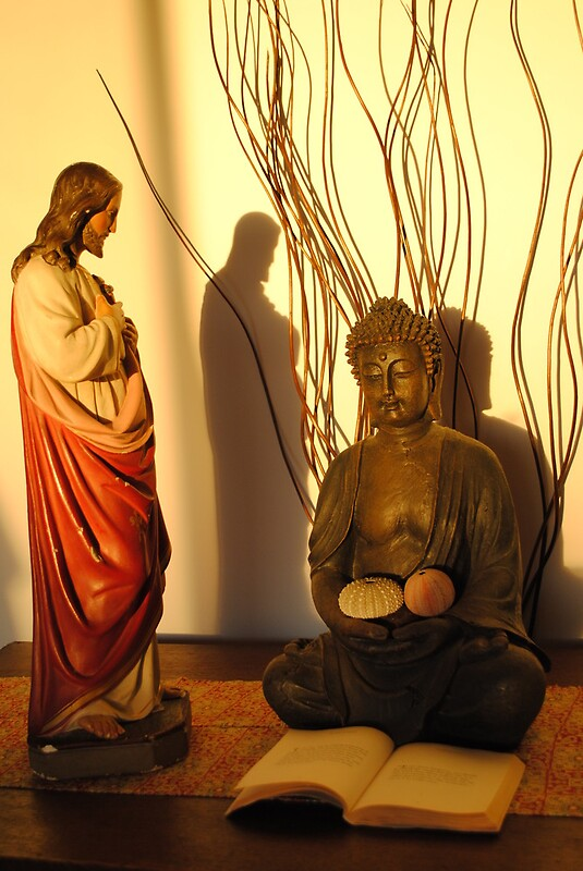 jesus and buddha Both buddha and jesus were baptized in the presence of the spirit of god 54 both went to their temples at the age of twelve, where they are said to have astonished all with their wisdom 55 both supposedly fasted in solitude for a long time: buddha for forty--seven days and jesus for forty 56 both wandered to a fig tree at the conclusion of their fasts 57.