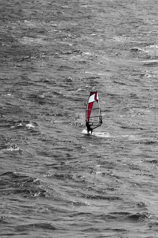 Windsurfing  by Asrais