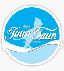 Ride TaunTaun Sticker