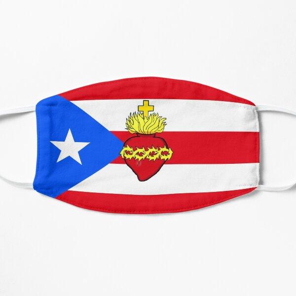 El Sagrado Corazón de Jesús reina en Puerto Rico  Mascarilla