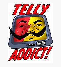 Telly Addict Photographic Print