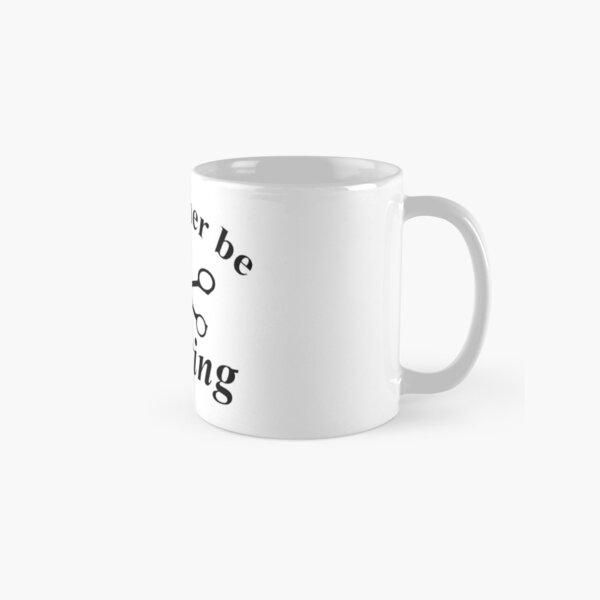 I'd Rather Be Crafting Classic Mug