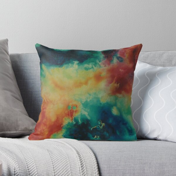Tahitian Dream  Throw Pillow