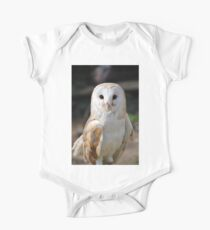 Barn Owl (Tyto Alba) One Piece - Short Sleeve