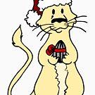 Gerbil Christmas by hybridwing